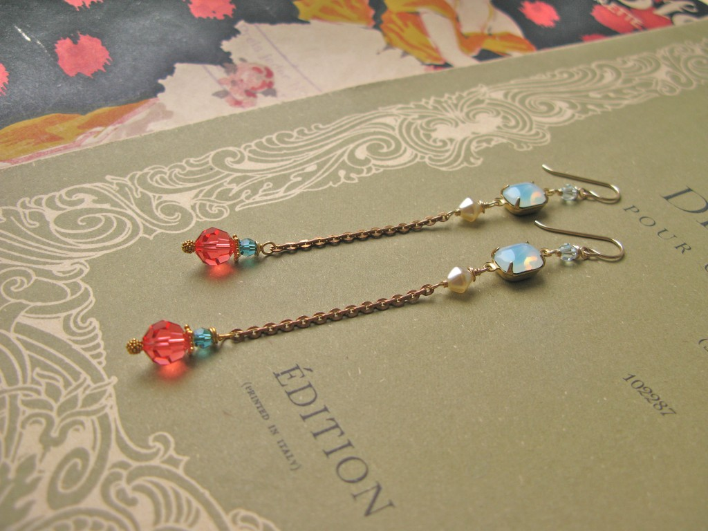 Mitzi St. Tropez earrings